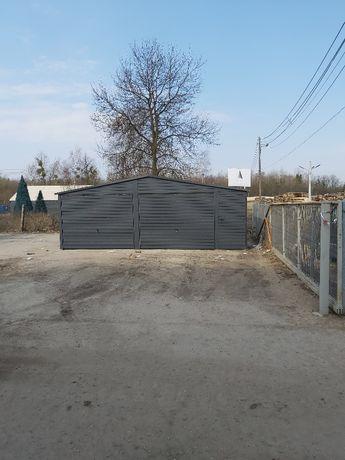 Garaz blaszany 7x6
