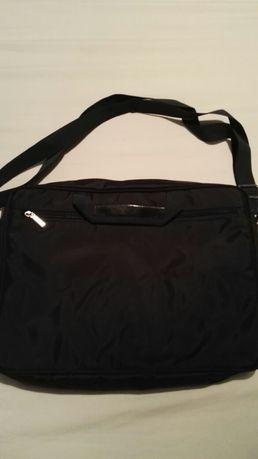 Nowa granatowa torba na laptopa