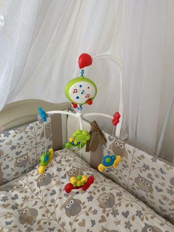 Детский мобиль в кроватку