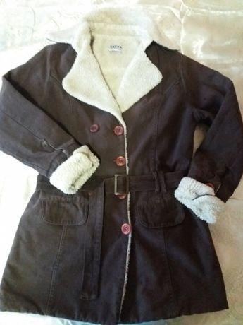 Куртка парка на девочку подростка