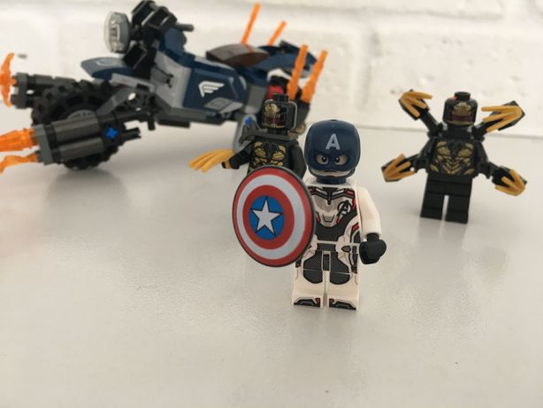 Lego 76123 капитан Америка