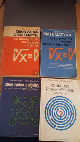 Zbiory z matematyki na wyższe uczelnie
