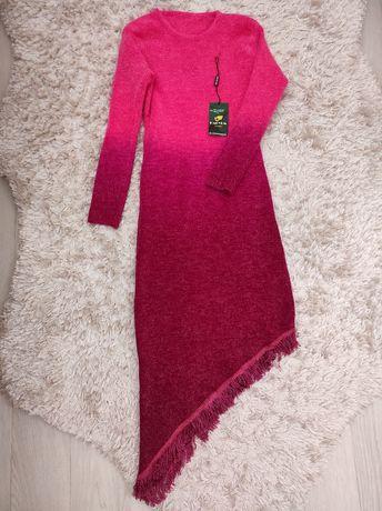 Платье вязаное, 2 оттенка