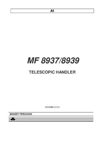 Katalog części MF 8937 mf 8939 Massey Ferguson INNY model?