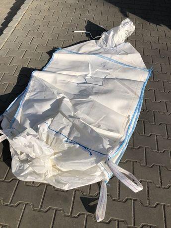 Big bag bagi WORKI BIG BAG 95/95/180 cm mocne uchwyty transportowe