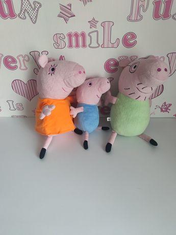 Мягкие игрушки семья свинки пепы