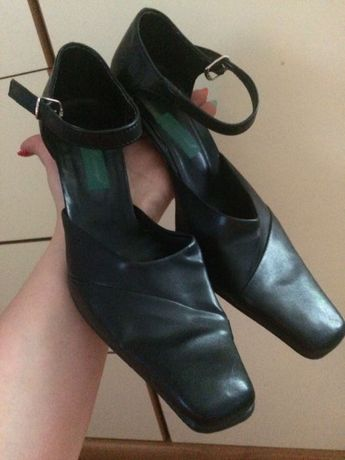 Buty czarne 39