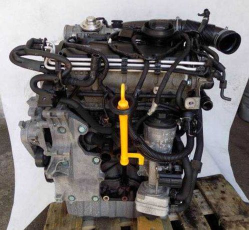 Мотор пассат б6 Vw touran двигатель jetta caddy 1.9 TDI Туран Джетта