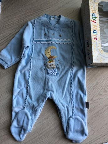 Babygrow Maiorista 1M azul - NOVO!