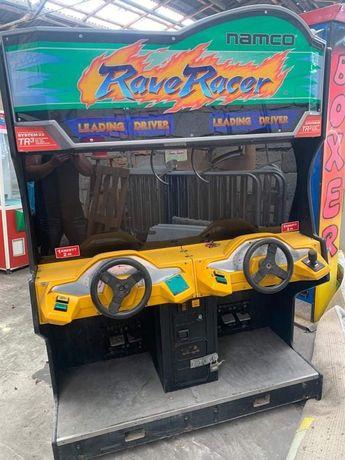 Symulator wyścigowy rave race
