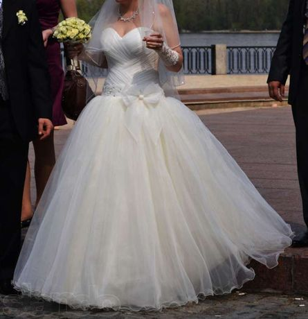 авторское свадебное платье + аксессуары