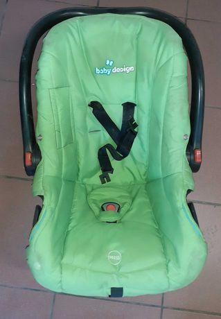 Fotelik samochodowy 0-13 kg zielony Baby Design