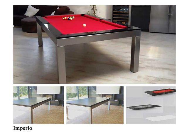 Bilhar Snooker Imperio com Tampo Jantar - Bilhares Capital