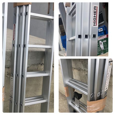Лестница алюминиевая Розкладна драбина 3-7.8.9.10.11 Стремянка