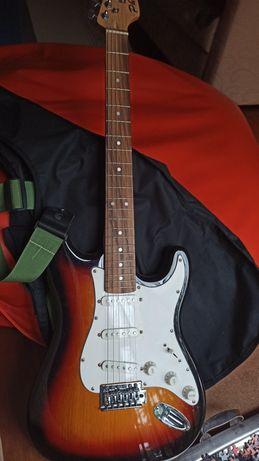 Guitarra electrica mais amplificador