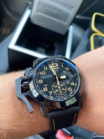 Graham chronometer black sahara limited edition