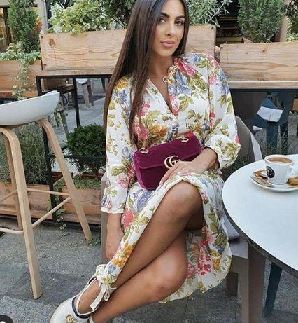 Платье красивейшее Zara S-М