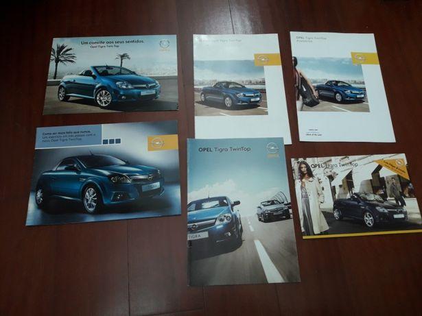 Opel Tigra TwinTop - Catálogos