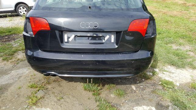 Zderzak Tylny Audi A4 B7 S-line LY9B Czarny