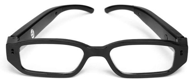 Szpiegowskie okulary z niewidoczna kamera hit fullHD