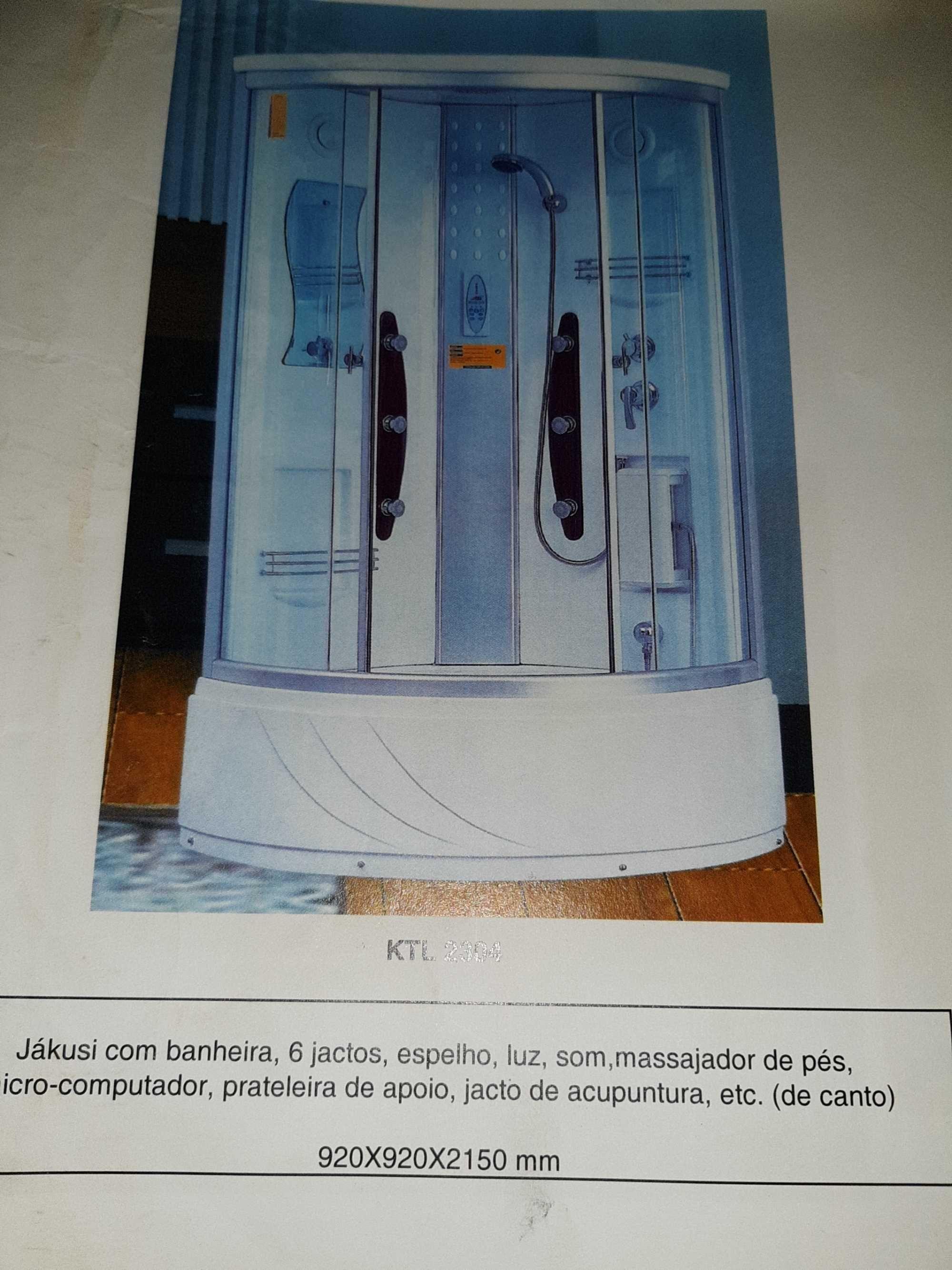 cabine hidro massagem