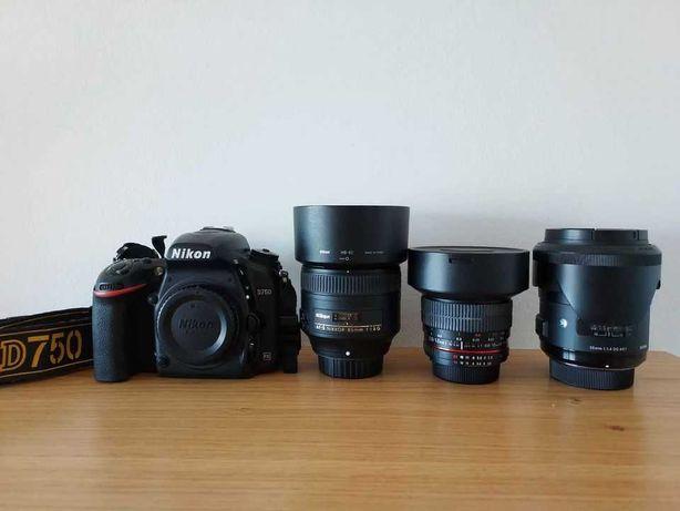 Nikon D750 equipment