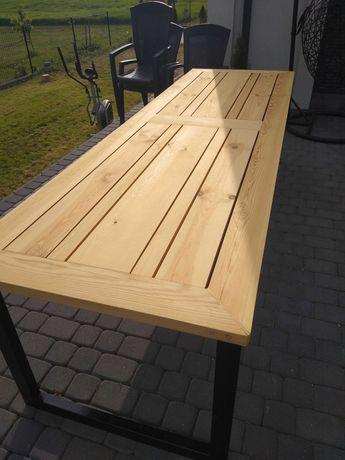 Stół ogrodowy loft metalowy