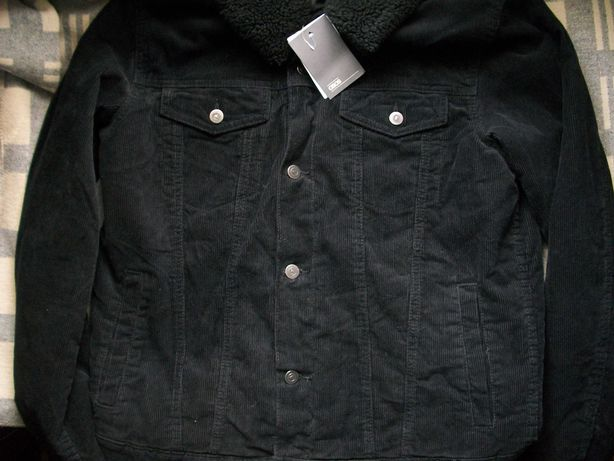 новая вельветовая , джинсовая утепленная куртка Asos XL