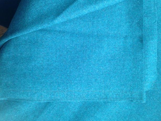 Отрез ткани пальтово-костюмной 2,25 м , шерсть - тонкое сукно