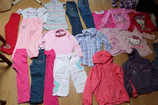 Ubranka dla dziewczynki rozm. 134