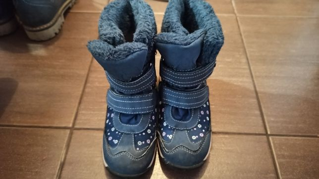 Buty dziewczęce zimowe rozm. 27