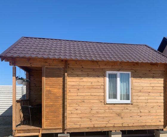 Комфортные деревянные домики у Азовского моря