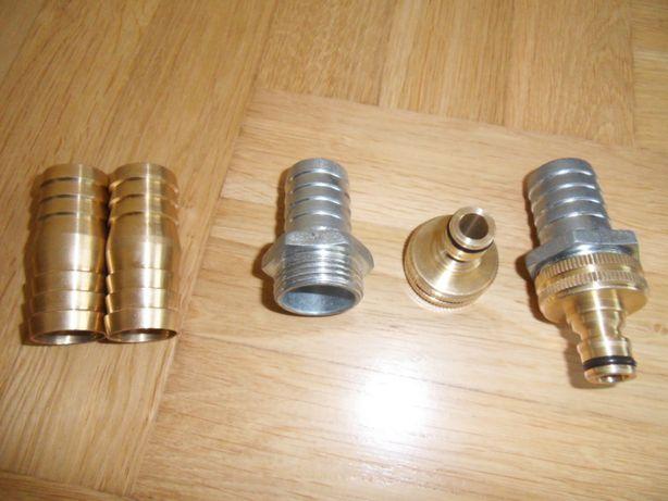 Złącze strażackie końcówki łącznik do wąża 1 cal