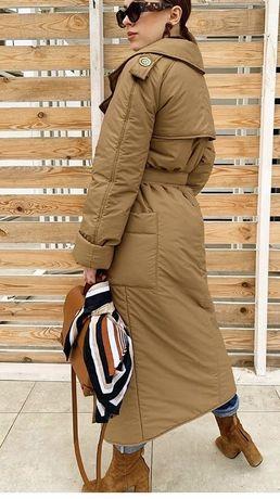 Пальто-тренч осень зима