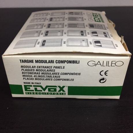 Módulo com botão e fechadura Elvox 80C1