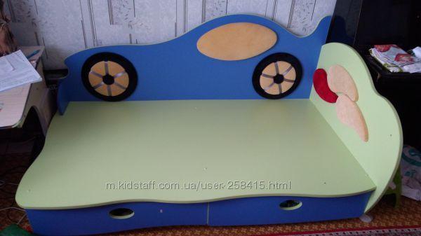 Кровать машина отличная