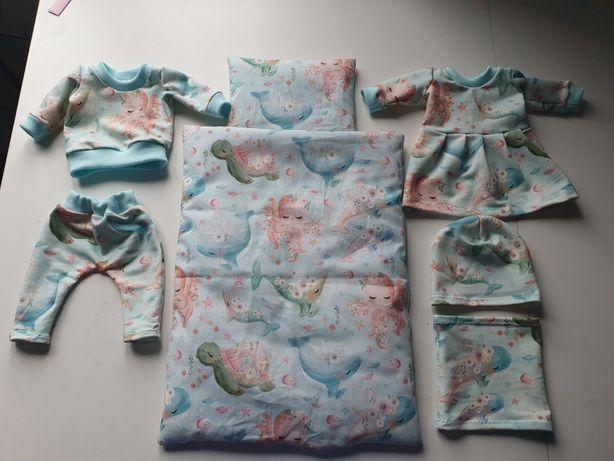 Zestaw ubranek  dla lalki baby born 43cm