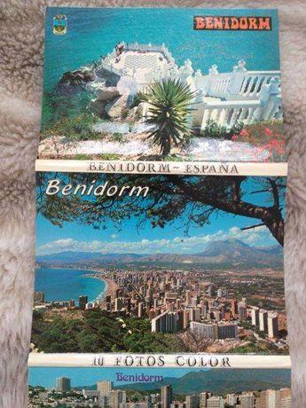 Conjunto Postais Benidorm + Turquia/Bósforo