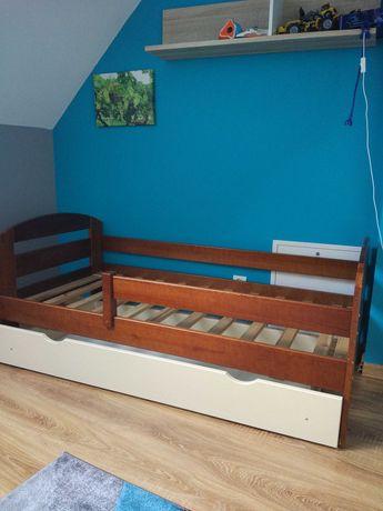 Łóżko Drewniane dziecięce 80x160