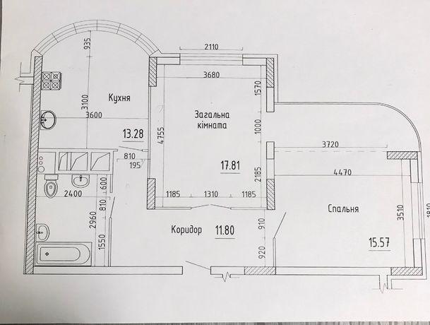 **Продам 3-х кімнатну квартиру з індивідуальним опаленням в центрі