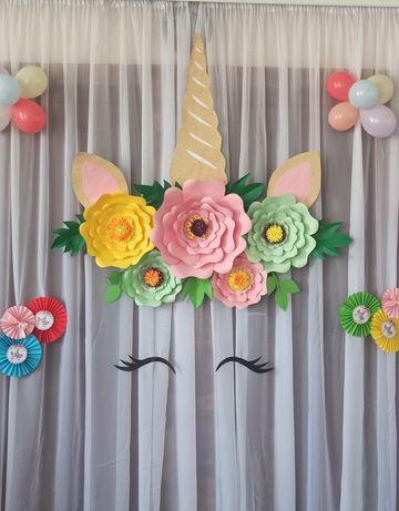 Фотозона единорог єдиноріг декор для день народження