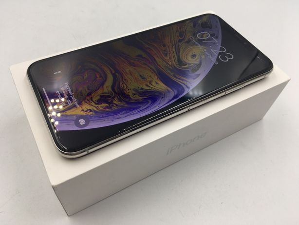 iPhone XS MAX 64GB SILVER • PROMOCJA • GWAR 1 MSC • AppleCentrum