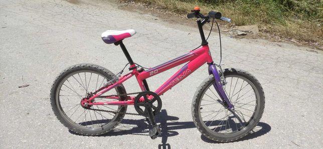 """Bicicleta de criança com roda de 20"""""""