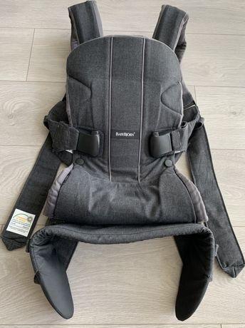 Эрго-рюкзак, слинг, переноска, сумка-кенгуру Baby Bjorn Baby One