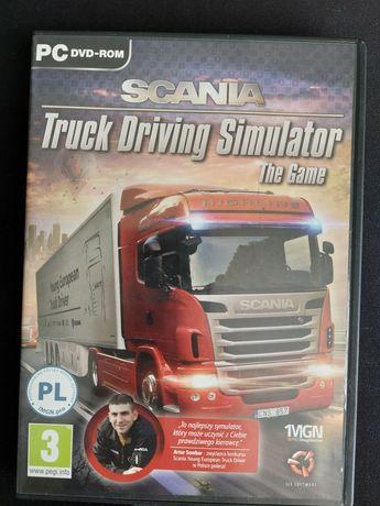 Gra Scania truck driving Simulator