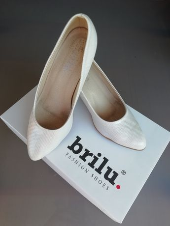 Buty ślubne Brilu 38