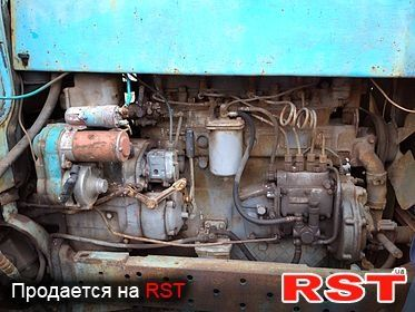 Трактор ЮМЗ-6 с с/х инвентарём