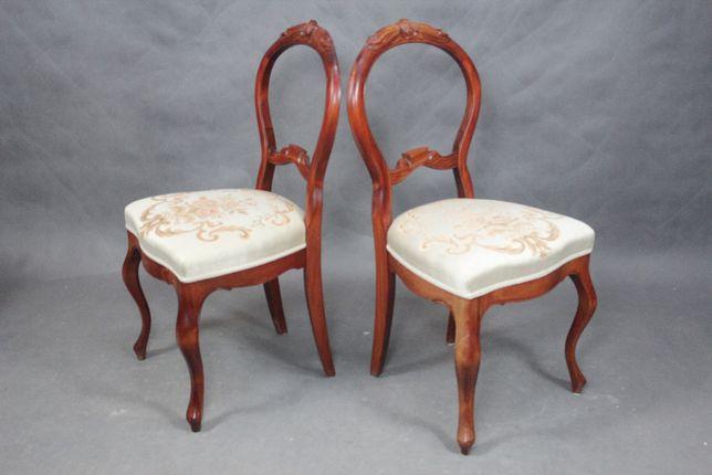 Para krzeseł krzesła krzesł Ludwik