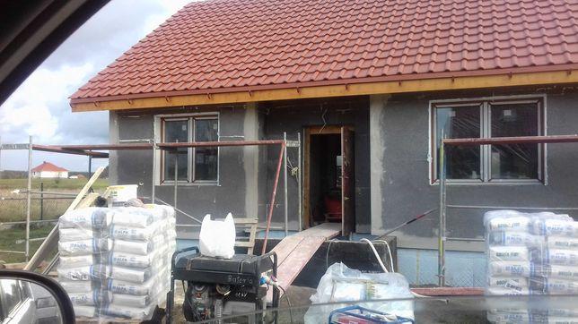 Usługi budowlane. Budowa  domów.  Elewacje .Remonty  pokryć dachowych
