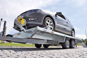 Немецкий универсальный прицеп, лафет-автовоз, до 3500 кг. Новый. С НДС